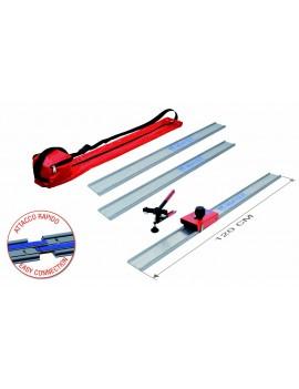 Sistema completo di taglio per piastrelle e lastre in gres porcellanato da 0 a 340 cm