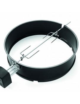 Girarrosto per bbq a carbone O 57 cm