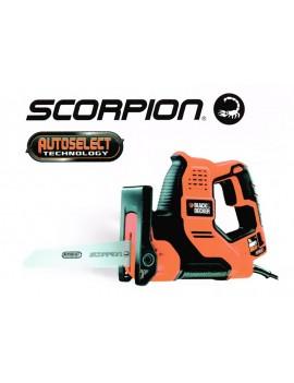 Sega multifunzione Scorpion 500W con tecnologia Autoselect in valigetta