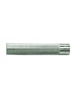 FIS E Bussola in acciaio zincata bianca con filettatura interna